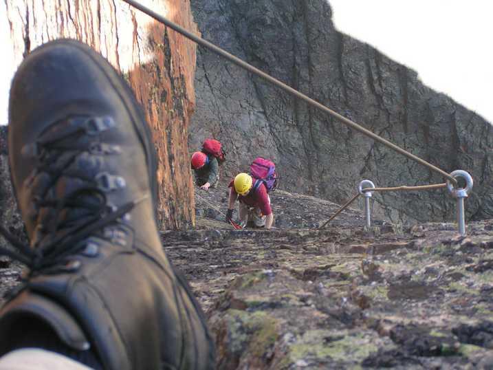 Klettersteig Jegihorn : Www.jenses welt.de
